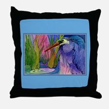 Heron Pond Throw Pillow