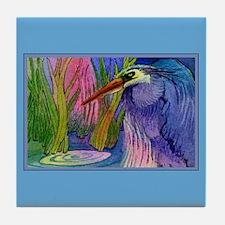 Heron Pond Tile Coaster