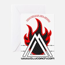 BJJ FIRE Greeting Cards (Pk of 10)