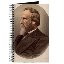 Portrait of US President Rutherford B. Hay Journal