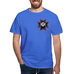 Masonic Maltese Square and Compasses Dark T-Shirt