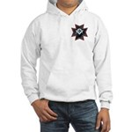 Masonic Maltese Square and Compasses Hooded Sweats