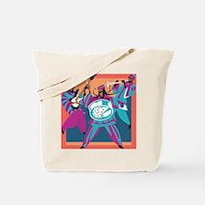Caribbean Sounds Blue Tote Bag