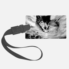 Wolves Luggage Tag