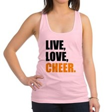 cheer Racerback Tank Top