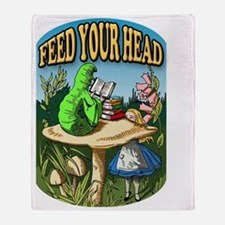Feed Your Head Throw Blanket