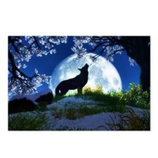Howling Wolf Postcards (Package of 8)