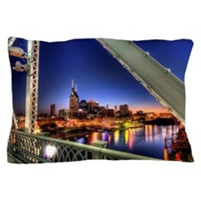 Bridge, Nashville, Tennessee Pillow Case