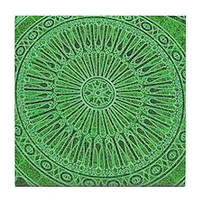 Italian green Tile Coaster