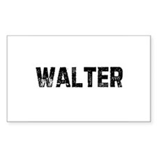 Walter Rectangle Decal