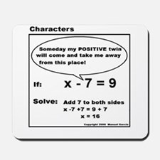 ADD TO BOTH SIDES OF EQUATION Mousepad