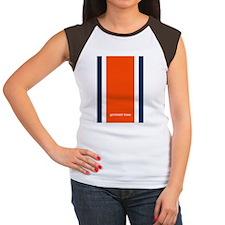 Auburn Orange/Blue Helm Women's Cap Sleeve T-Shirt