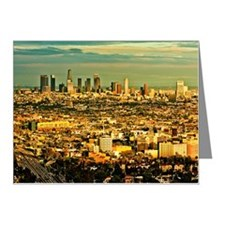 Los Angeles cityscape Note Cards (Pk of 20)