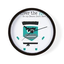Karate Karl Wall Clock