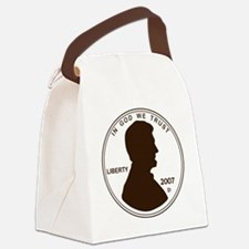 Penny Lincoln Silhouette Canvas Lunch Bag