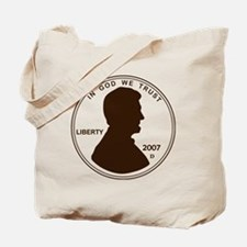 Penny Lincoln Silhouette Tote Bag