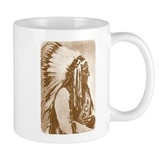 Sitting Bull Teton Sioux Chief Coffee Mug