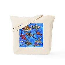 Wild Goldfish Tote Bag
