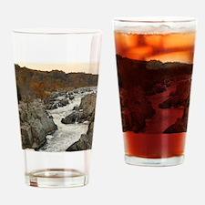 Great Falls Virginia Drinking Glass