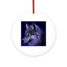 Wolf Round Ornament