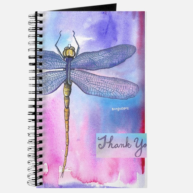 Dragonfly Thank You Journal