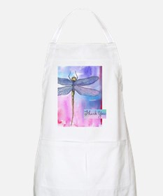 Dragonfly Thank You Apron