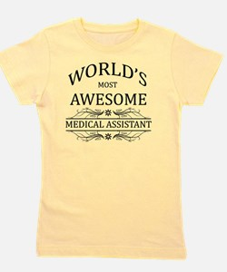 medical assistant Girl's Tee