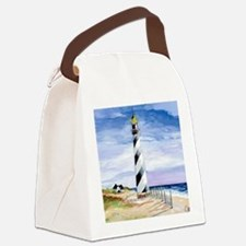 American Lighthouse Canvas Lunch Bag
