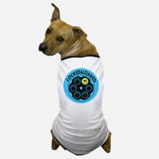Locked and Loaded Smiley Bullets Dog T-Shirt