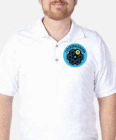 Locked and Loaded Smiley Bullets T-Shirt