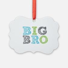 Sketch Style Big Bro Ornament