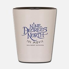 Nine Degrees North ~ Movie Logo Shot Glass