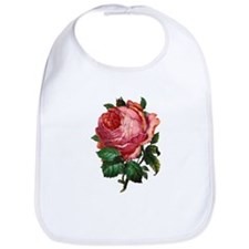 Victorian Red Rose Bib