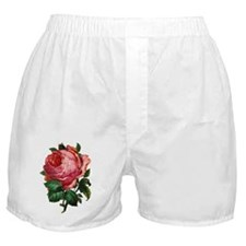 Victorian Red Rose Boxer Shorts