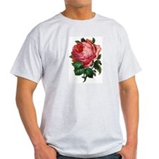 Victorian Red Rose T-Shirt