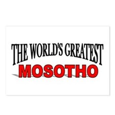 """""""The World's Greatest Mosotho"""" Postcards (Package"""