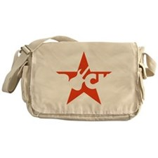 e-guitar rock star Messenger Bag