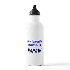 My Favorite name is PAPAW Water Bottle