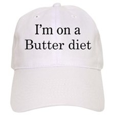 Butter diet Baseball Cap