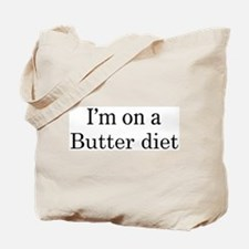 Butter diet Tote Bag