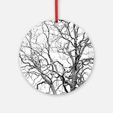 Tree branches Round Ornament