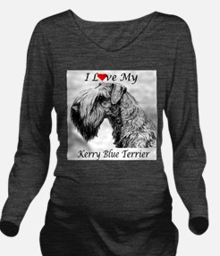 I Luv Kerry-3.png Long Sleeve Maternity T-Shirt
