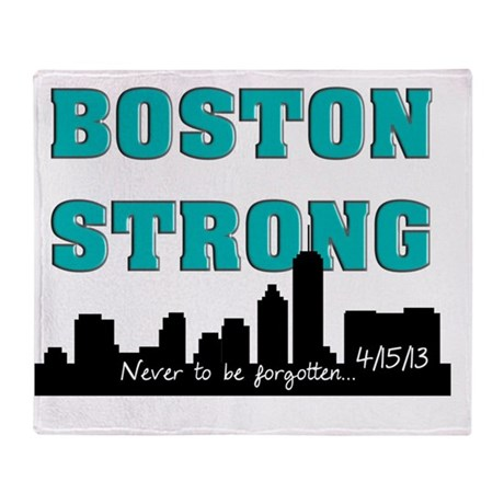 boston strong 56 Throw Blanket