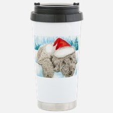 Christmas Labradoodle Travel Mug