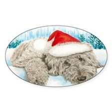 Christmas Labradoodle Decal