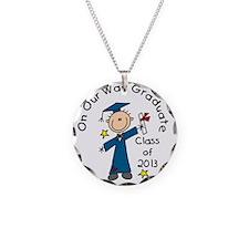 Boy Graduate 2013 Necklace
