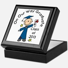 Boy Graduate 2013 Keepsake Box