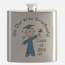 Boy Graduate 2013 Flask