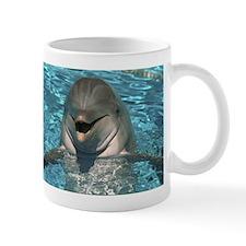 Hiya ! Happy Dolphin Coffee Small Mug