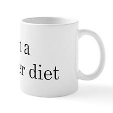 Cucumber diet Mug
